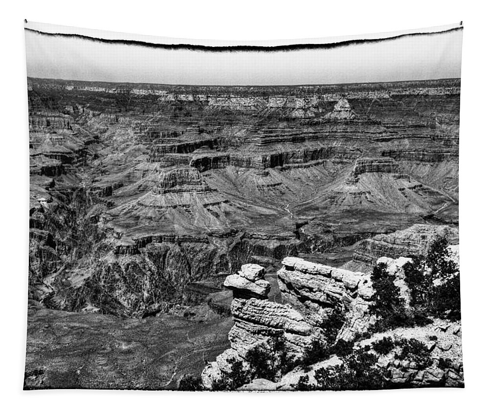 The Grand Canyon Xiii Tapestry featuring the photograph The Grand Canyon Xiii by David Patterson