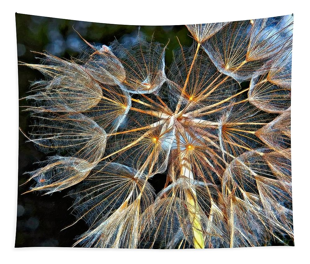 Weed Tapestry featuring the photograph The Inner Weed Oil by Steve Harrington