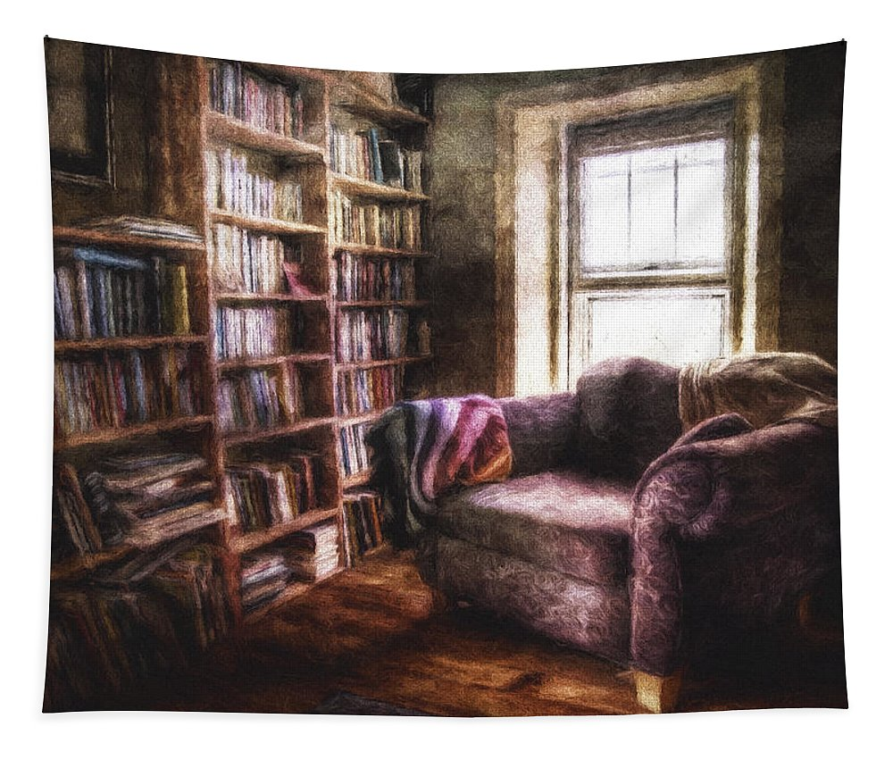Interior Photography Tapestry featuring the photograph The Joshua Wild Room by Scott Norris