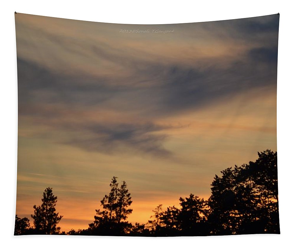 Nature Tapestry featuring the photograph The Nature Of Nature by Sonali Gangane