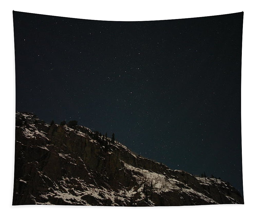 Ouray Colorado Tapestry featuring the photograph The Stars In The Sky by Jeff Swan