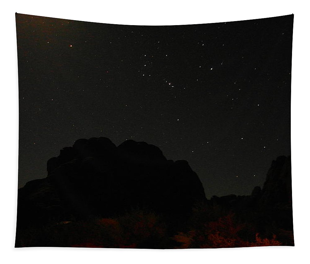 Stars Tapestry featuring the photograph The Stars Over Utah by Jeff Swan