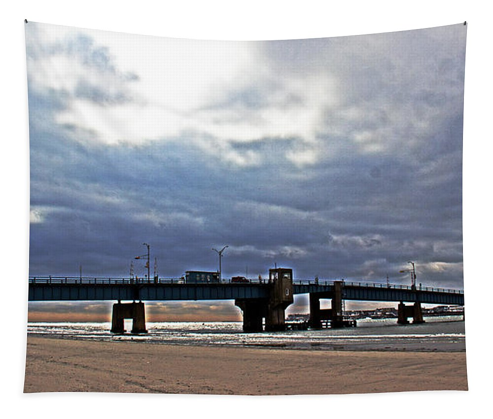 Bridge Tapestry featuring the photograph The T1 Bridge by Tom Gari Gallery-Three-Photography