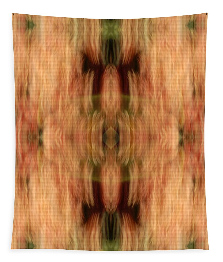 Abstract Tapestry featuring the photograph The Totum by Paul W Faust - Impressions of Light