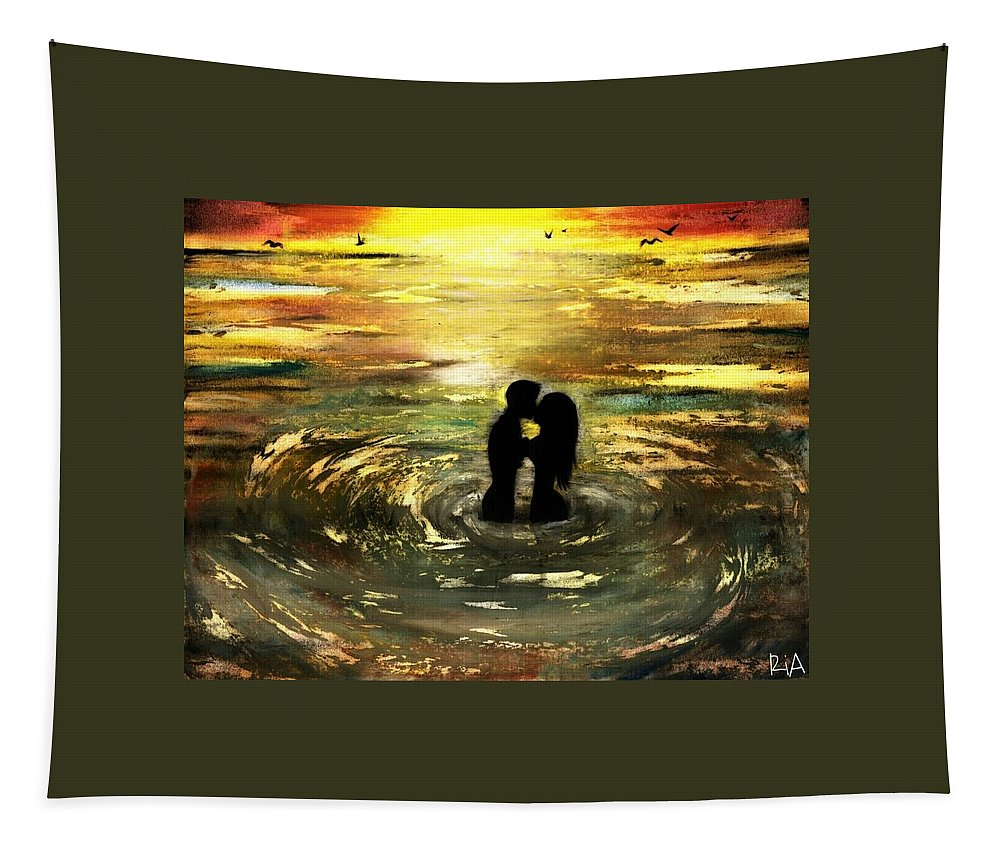 Beautiful Tapestry featuring the photograph The Vow by Artist RiA