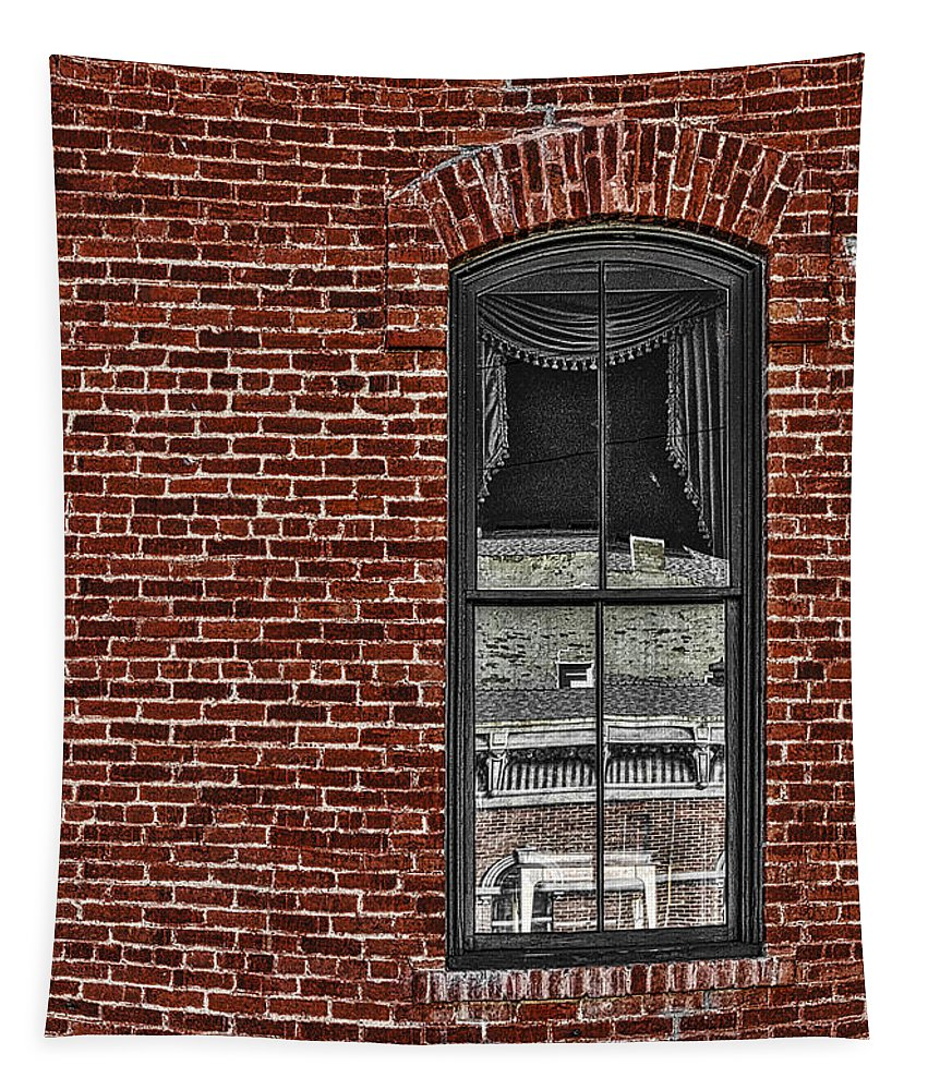 The Window Tapestry featuring the photograph The Window by Mitch Shindelbower