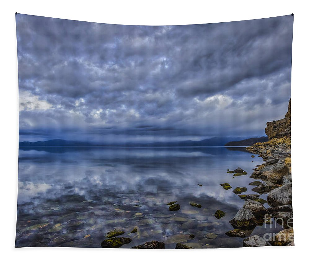 The World Beyond Ours Tapestry featuring the photograph The World Beyond Ours by Mitch Shindelbower