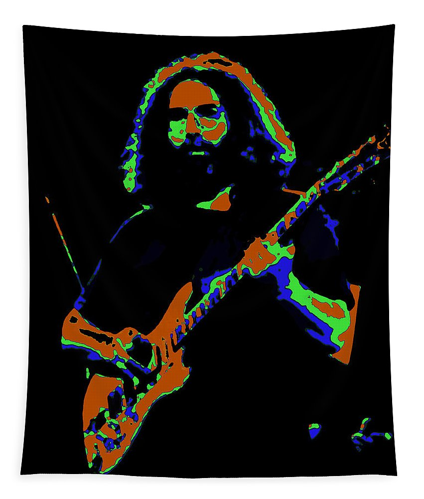 Jerry Garcia Tapestry featuring the photograph Things Get Electric by Ben Upham