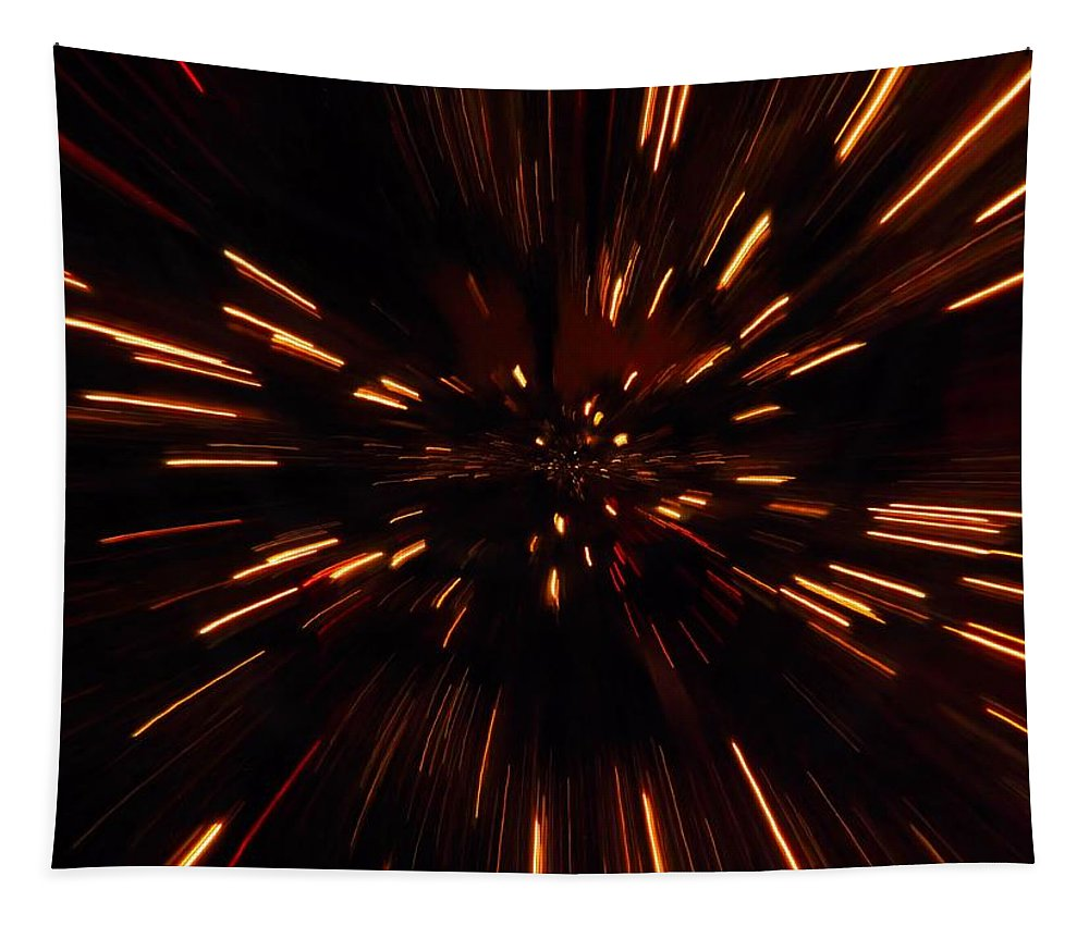 Time Travel Tapestry featuring the photograph Time Travel by Dan Sproul
