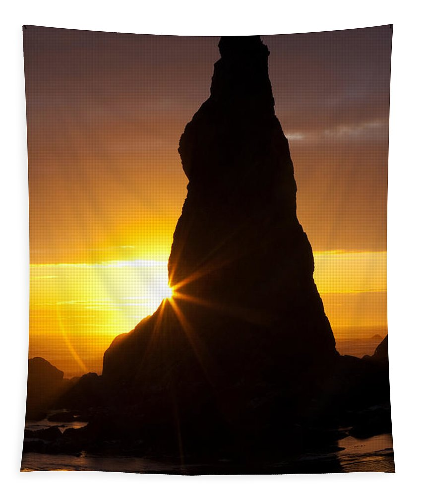 Calm Tapestry featuring the photograph Touch Of Hope by Mark Kiver