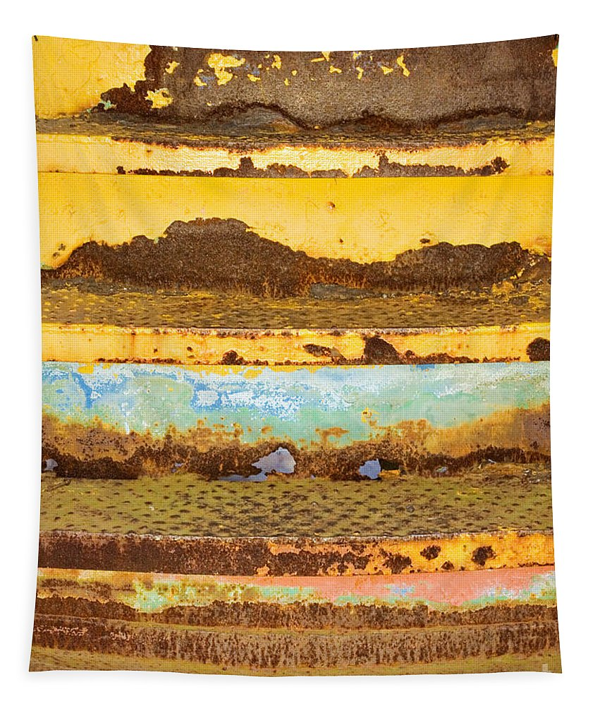 Elkhart Tapestry featuring the photograph Train Art by Gary Richards