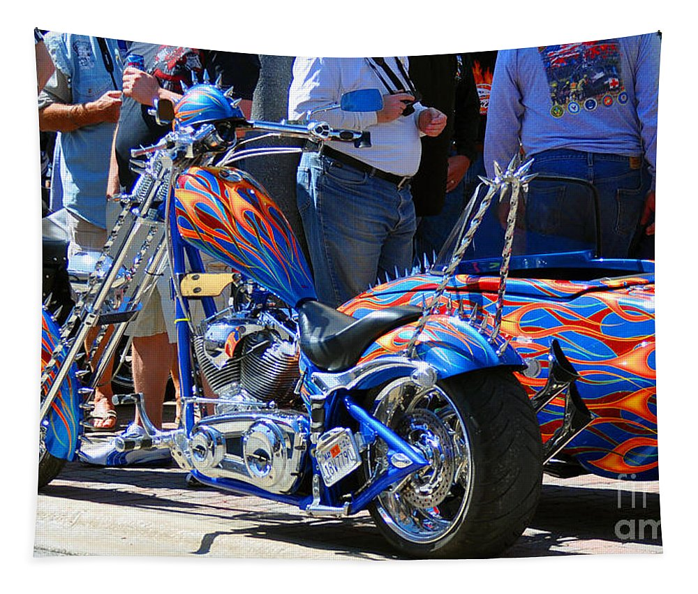 Paint Jobs Tapestry featuring the photograph True Colors by Davids Digits
