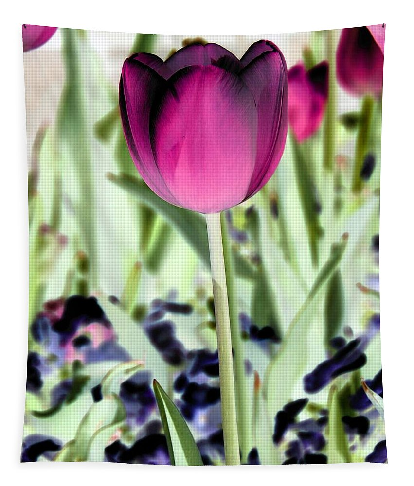 Tulip Tapestry featuring the photograph Tulips - Perfect Love - Photopower 2026 by Pamela Critchlow