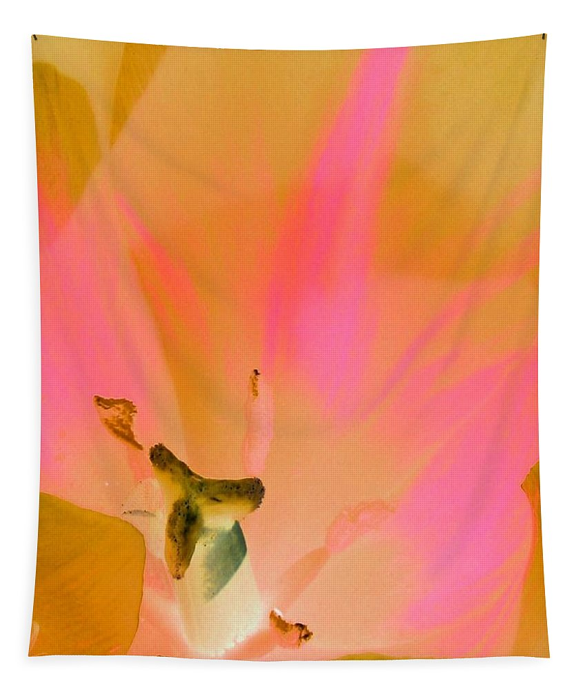 Tulip Tapestry featuring the photograph Tulips - Perfect Love - Photopower 2033 by Pamela Critchlow