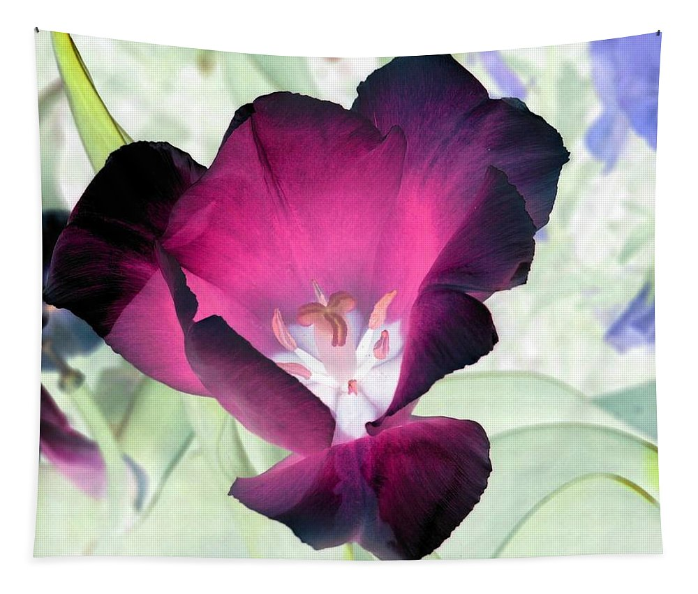 Tulip Tapestry featuring the photograph Tulips - Perfect Love - Photopower 2042 by Pamela Critchlow