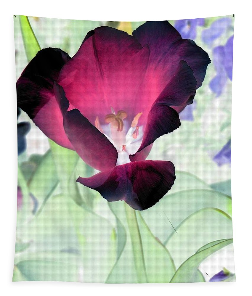 Tulip Tapestry featuring the photograph Tulips - Perfect Love - Photopower 2043 by Pamela Critchlow