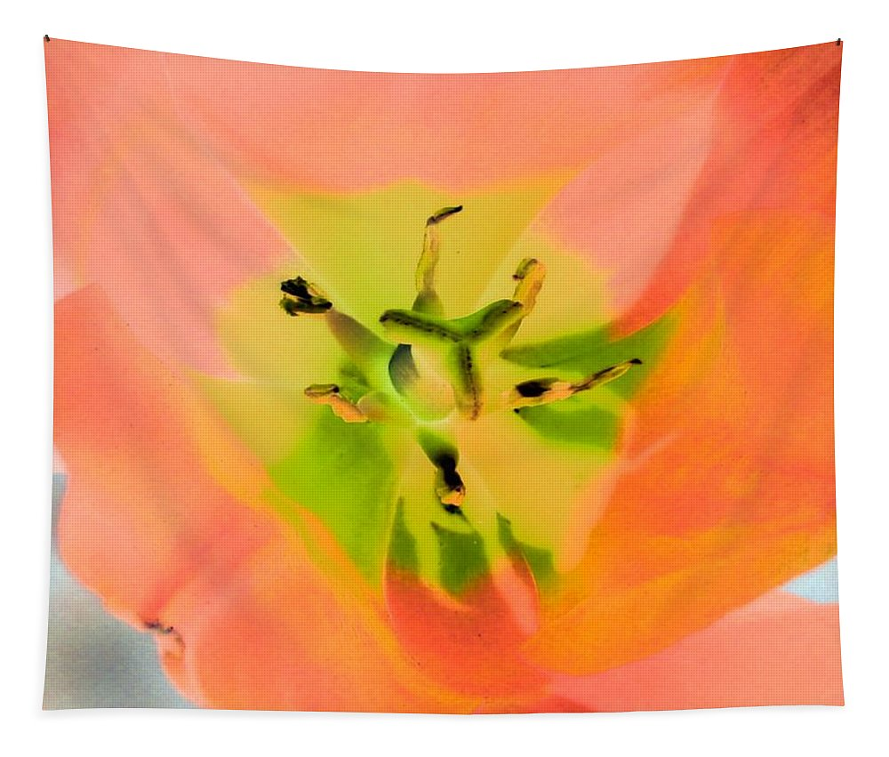 Tulip Tapestry featuring the photograph Tulips - Perfect Love - Photopower 2052 by Pamela Critchlow