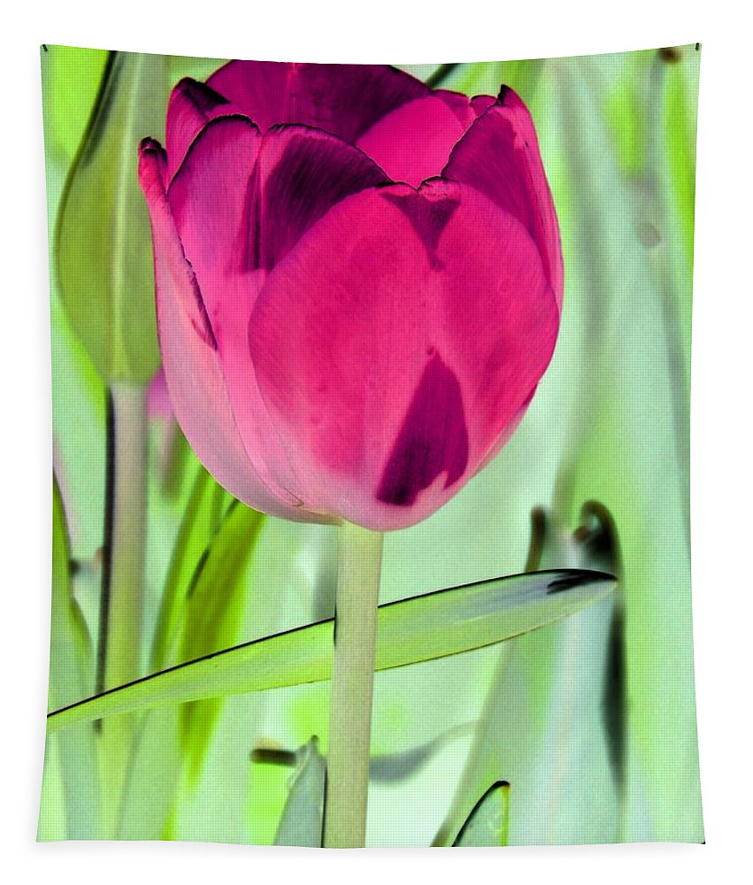 Tulip Tapestry featuring the photograph Tulips - Perfect Love - Photopower 2053 by Pamela Critchlow