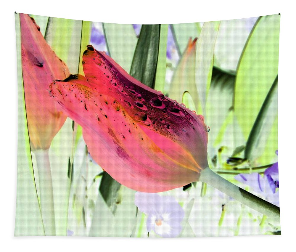Tulip Tapestry featuring the photograph Tulips - Perfect Love - Photopower 2077 by Pamela Critchlow