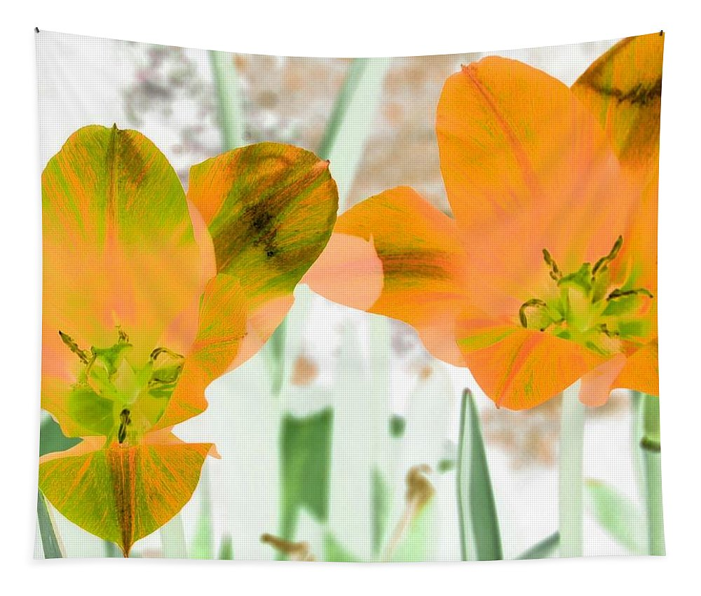 Tulip Tapestry featuring the photograph Tulips - Perfect Love - Photopower 2083 by Pamela Critchlow