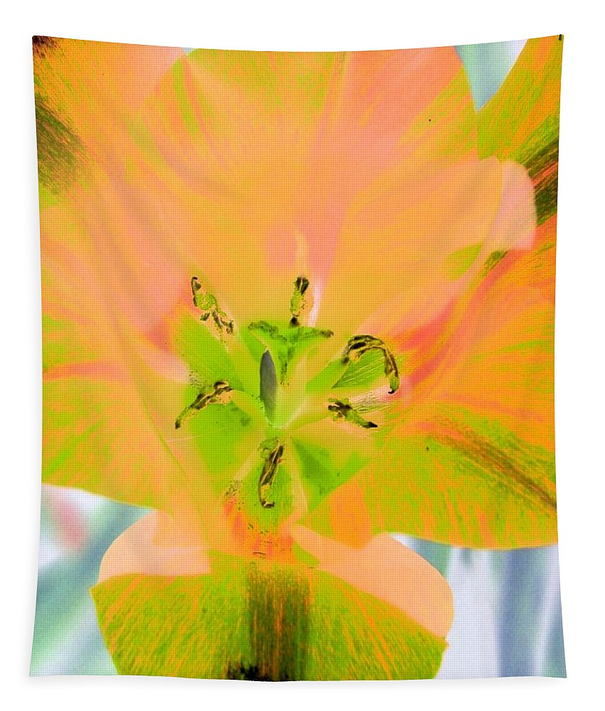 Tulip Tapestry featuring the photograph Tulips - Perfect Love - Photopower 2085 by Pamela Critchlow