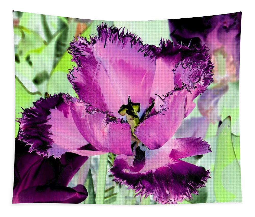 Tulip Tapestry featuring the photograph Tulips - Perfect Love - Photopower 2093 by Pamela Critchlow