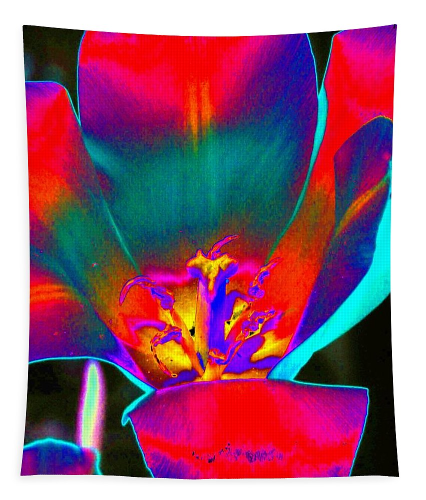 Tulip Tapestry featuring the photograph Tulips - Perfect Love - Photopower 2155 by Pamela Critchlow