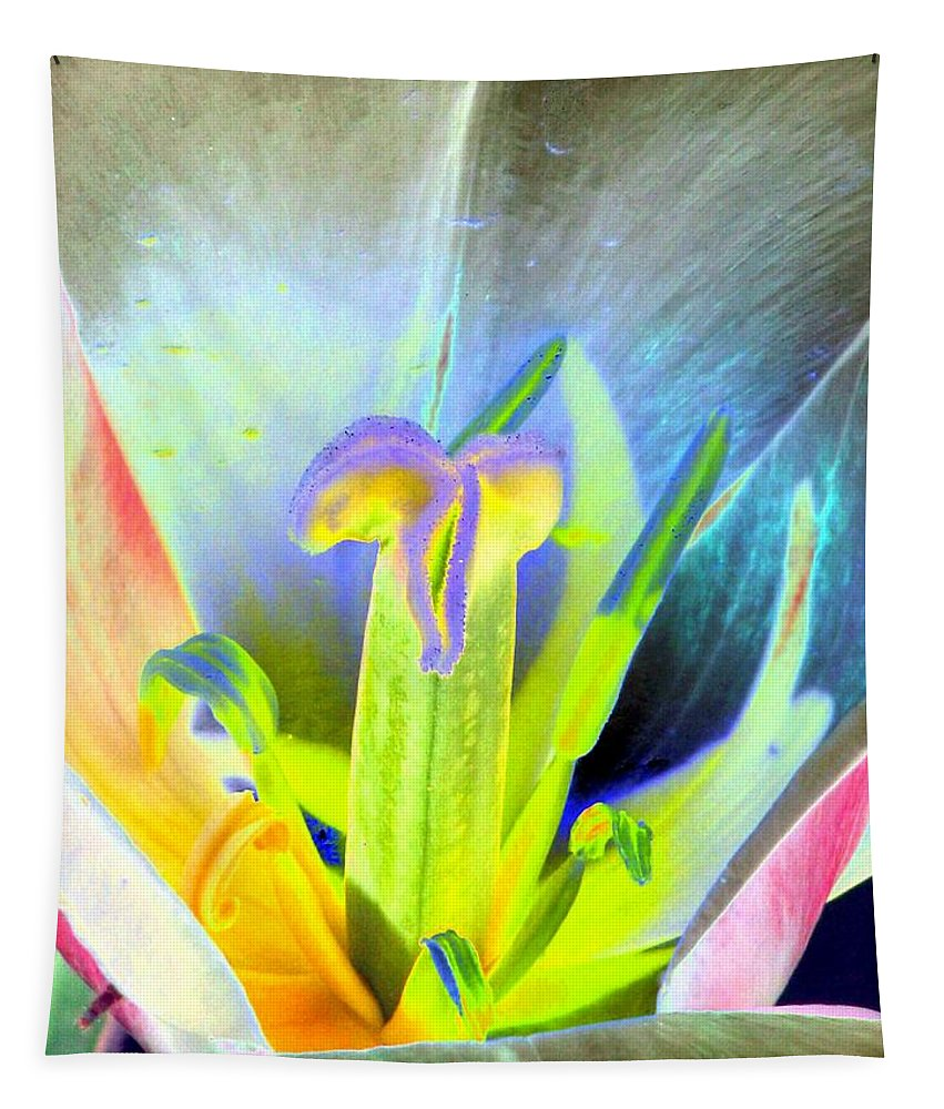 Tulip Tapestry featuring the photograph Tulips - Perfect Love - Photopower 2161 by Pamela Critchlow