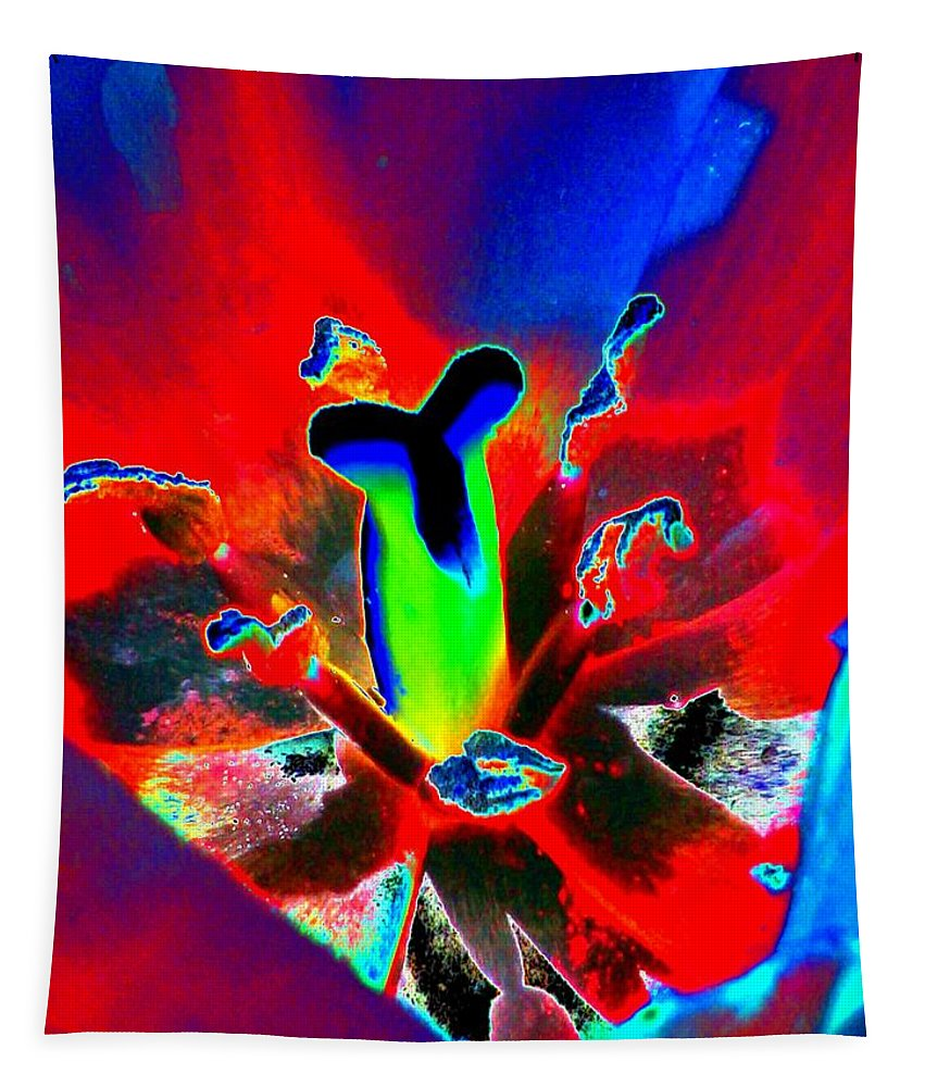Tulip Tapestry featuring the photograph Tulips - Perfect Love - Photopower 2170 by Pamela Critchlow