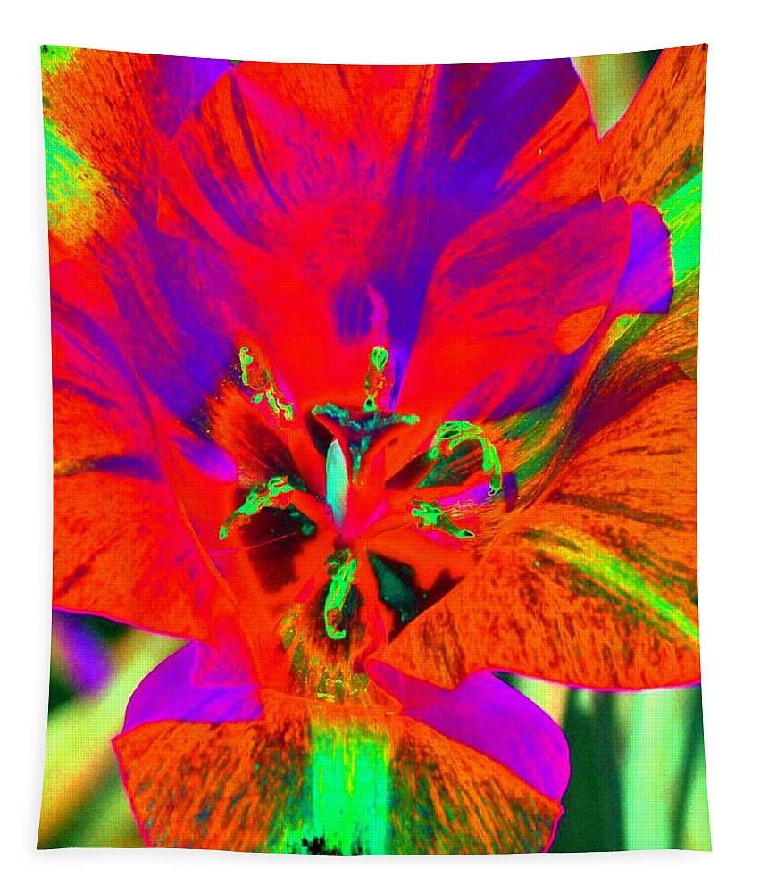Tulip Tapestry featuring the photograph Tulips - Perfect Love - Photopower 2179 by Pamela Critchlow