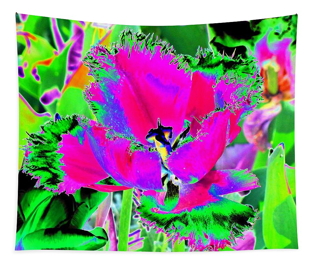 Tulip Tapestry featuring the photograph Tulips - Perfect Love - Photopower 2183 by Pamela Critchlow