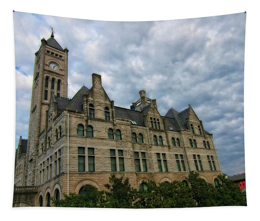 Union Station Hotel Tapestry featuring the photograph Union Station Hotel by Dan Sproul