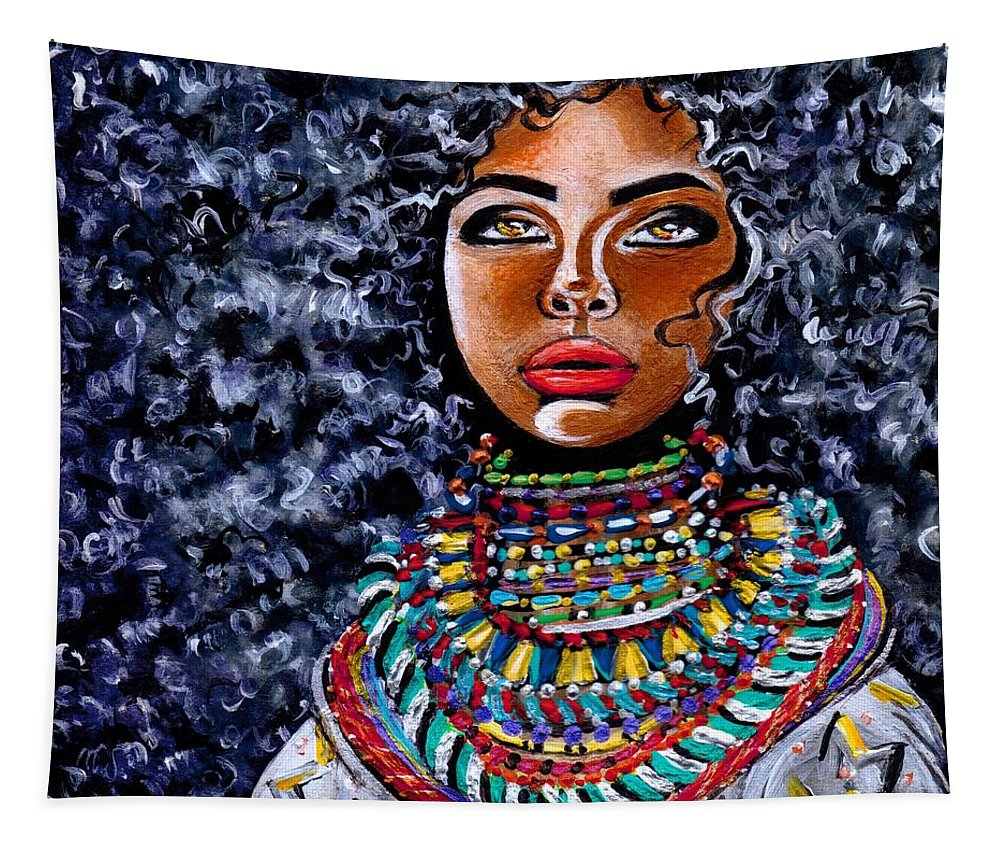 Artbyria Tapestry featuring the photograph Untamed Beauty by Artist RiA