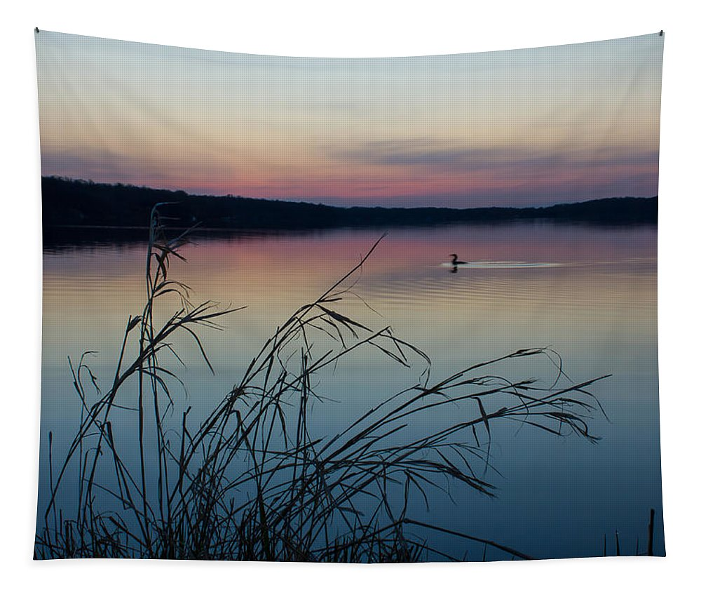 Dawn Tapestry featuring the photograph Up Before Dawn by Penny Meyers