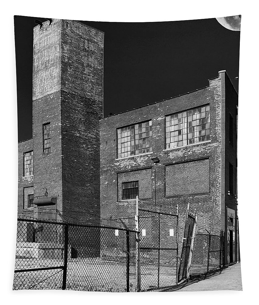 Old Factory Tapestry featuring the photograph Used Brick by Dominic Piperata
