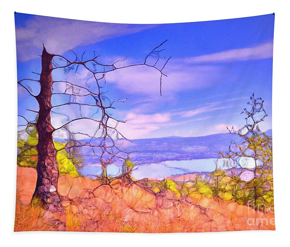 Tree Tapestry featuring the photograph Valley Views by Tara Turner
