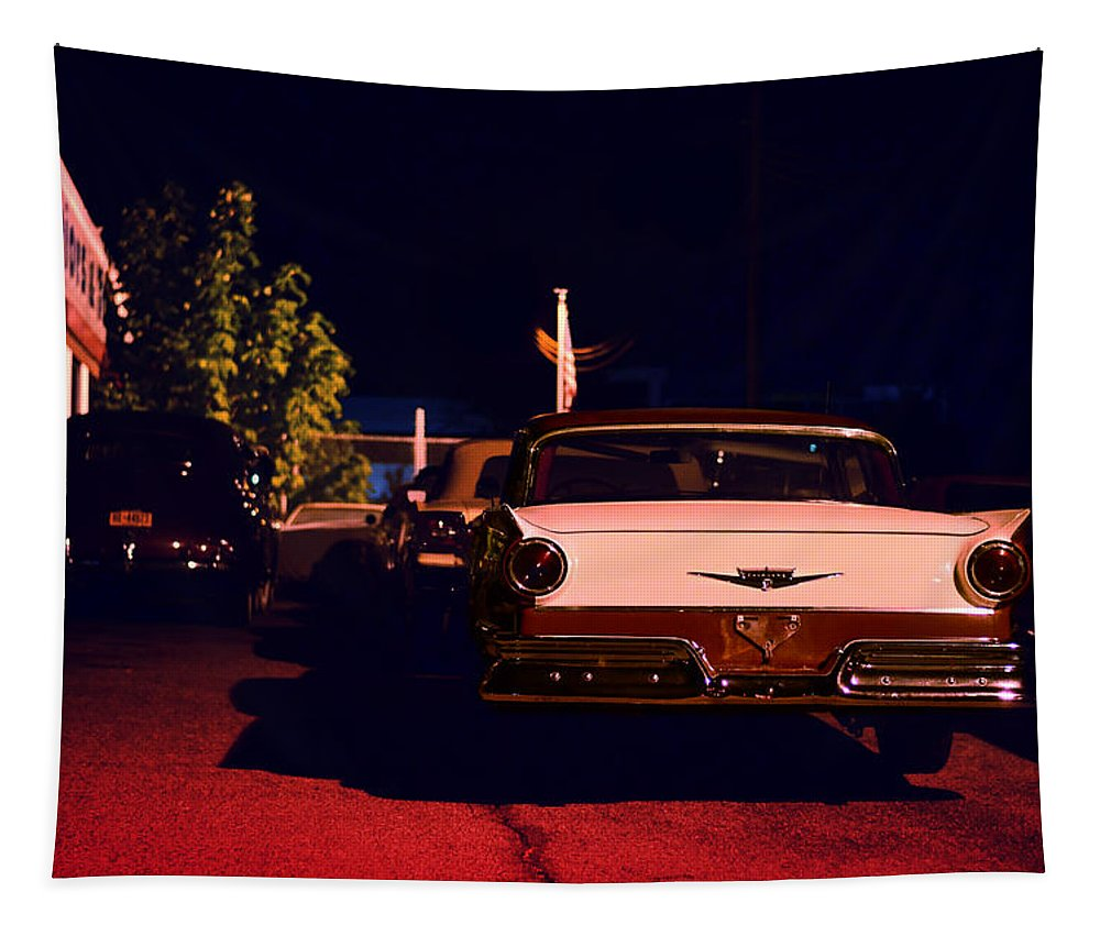 Classic Car Tapestry featuring the photograph Velvet Underground by Laura Fasulo