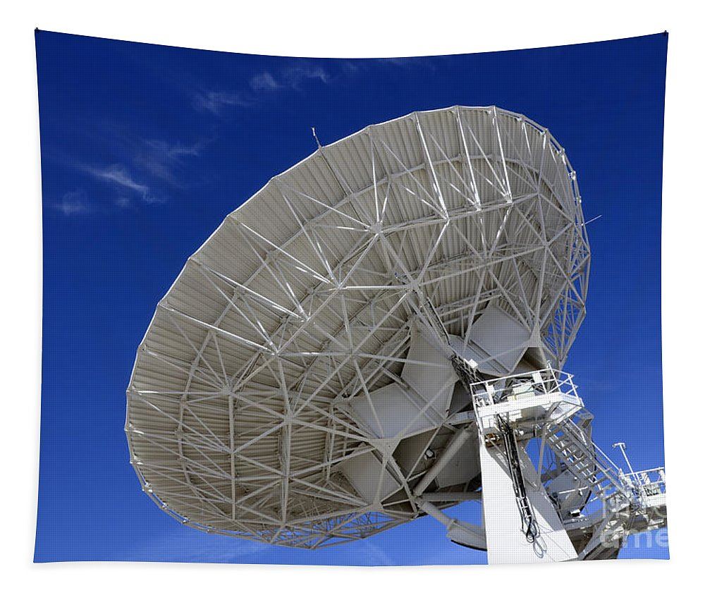 Vla Tapestry featuring the photograph Very Large Array Of Radio Telescopes 4 by Bob Christopher
