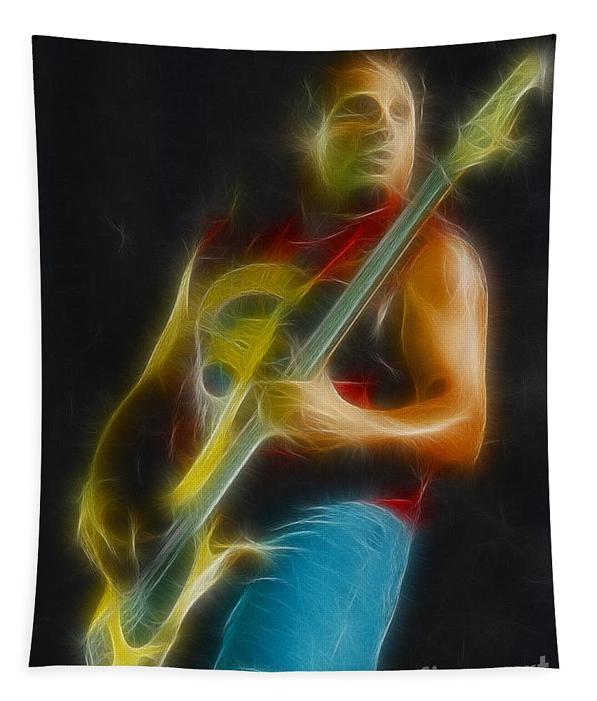 Music Tapestry featuring the photograph Vh-michael-balance-gb8-fractal by Gary Gingrich Galleries