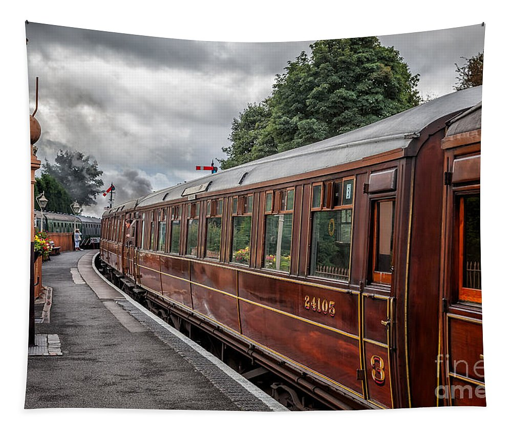 3rd Class Tapestry featuring the photograph Vintage Carriages by Adrian Evans