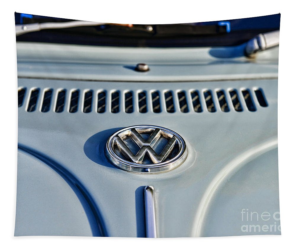 Paul Ward Tapestry featuring the photograph Vw Volkswagen Bug Beetle by Paul Ward