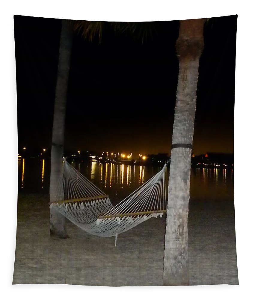 Hammock Tapestry featuring the photograph Waiting For You by Thomas Woolworth