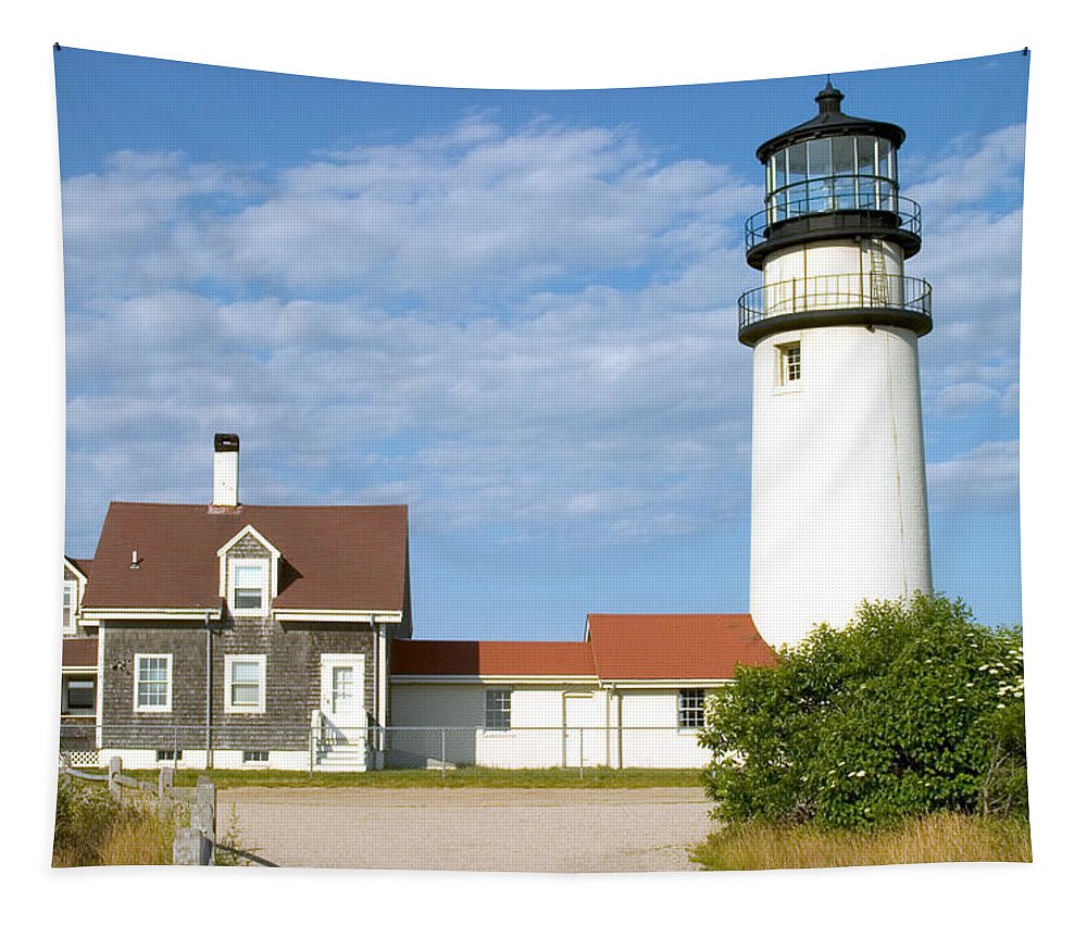 Highland Light Tapestry featuring the photograph Walk To The Lighthouse by Jeff Folger