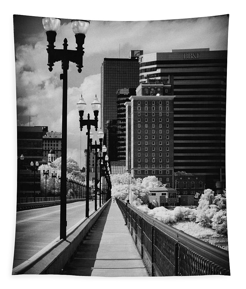 Infrared Tapestry featuring the photograph Walking To Knoxville by Paul W Faust - Impressions of Light