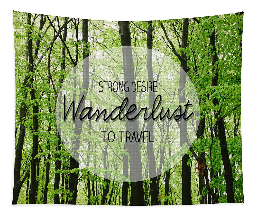 Wanderlust Tapestry featuring the photograph Wanderlust by Pati Photography