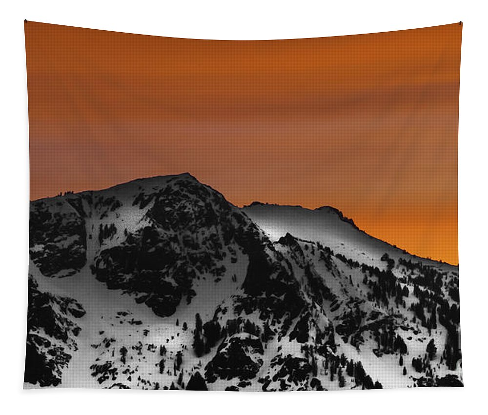Warm Winter Tapestry featuring the photograph Warm Winter by Mitch Shindelbower