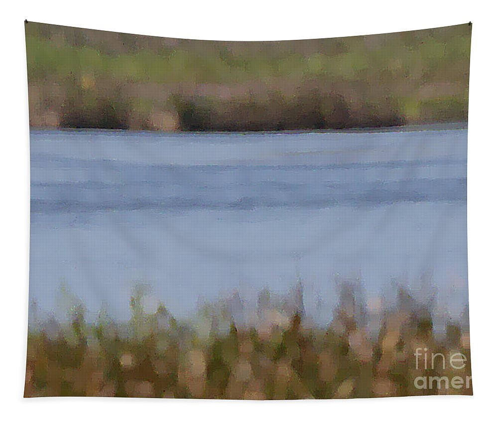 Abstract Tapestry featuring the photograph Water Abstract by Kerri Farley