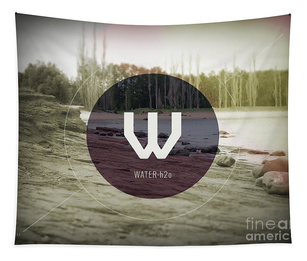 Photography Tapestry featuring the photograph Water by Phil Perkins