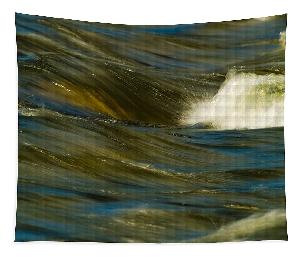 Water Tapestry featuring the photograph Water Play by Bill Gallagher