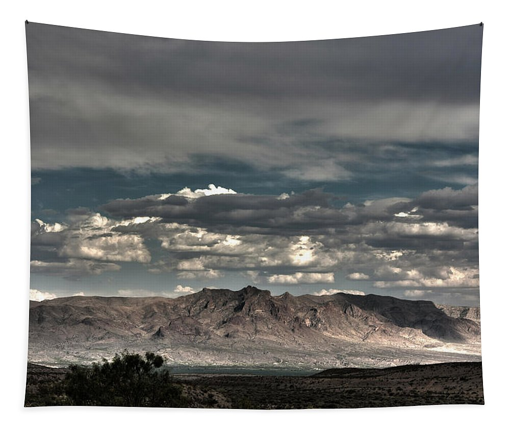 Grand Tapestry featuring the digital art Western by Bruce Rolff